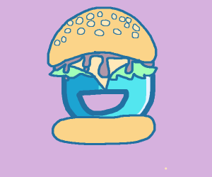 Drawception Burger