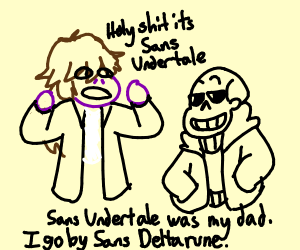 Susie and sans