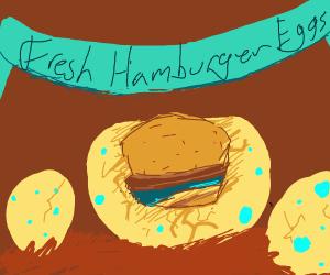 hamburger hatching