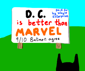 DC is better than Marvel!