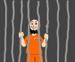 guy likes being in jail