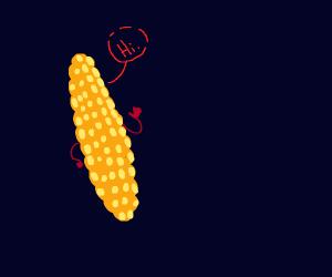 Corn saying hi