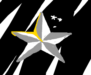 Shiny star (the shape)