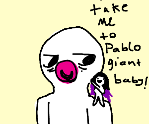 NEW MODE OF TRANSPORTATION: GIANT BABIES