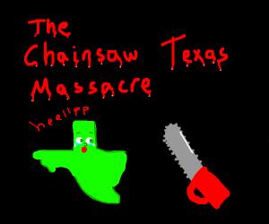 chainsaw texas
