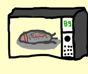 Microwaving a Bomb