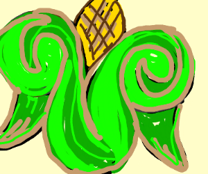 Angel corn cob