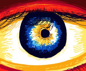 High detail eye