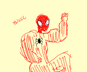 thicc spiderman