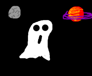A ghost in space