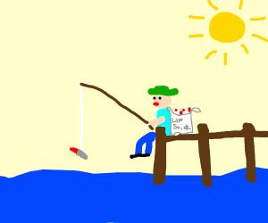 Fishing for Lipstick