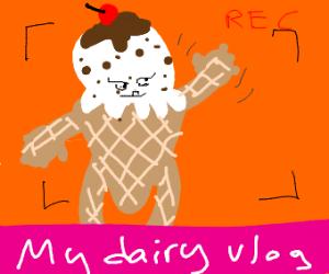 Anthropomorphic Ice-cream Jokes