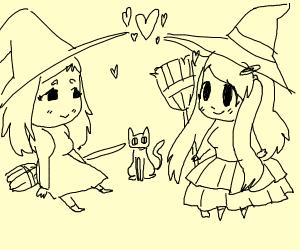 True witch love