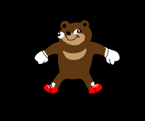 Ugandan Knuckles but he is a bear