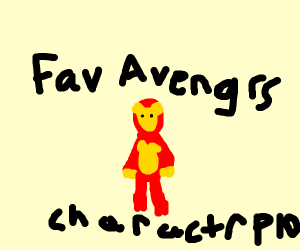 Fav. Avengers Character (Mine's Spiderman)