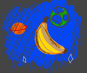 Banana in space