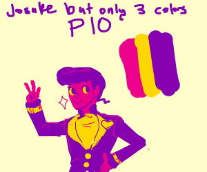 Josuke but only three colors PIO
