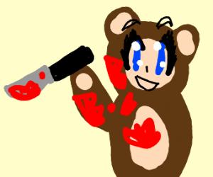 That creepy killer anime bear