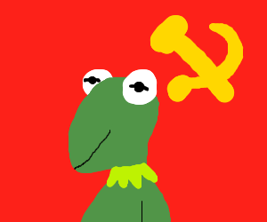 Kermit is a communist