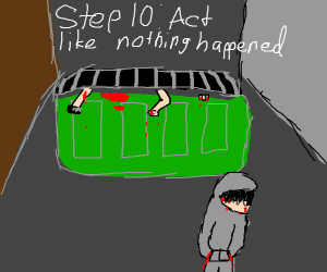 Step 9: send them to the dumpster