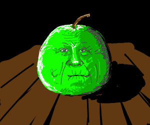 Granny Smith apple, but is a granny