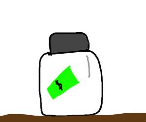 Money in the jar