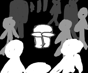 Agoraphobia - fear of crowds