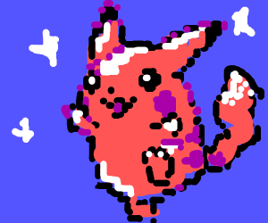 Sparkly Pikachu