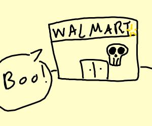 Frightening Store