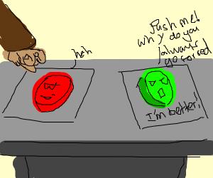 Jealous Button