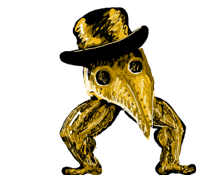 THE GOLDEN PLAGUE DOCTOR