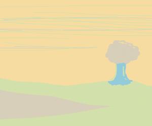 Low-contrast scenery