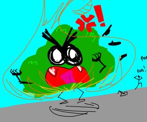 Aggresive Bush