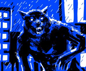 Werewolf in the spotlight