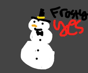 frosty no