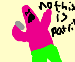 No this is Patrick!