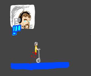 Pewdiepie plays Happy Wheels
