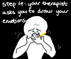 Step 3: Seek Therapy for Drawing Addiction