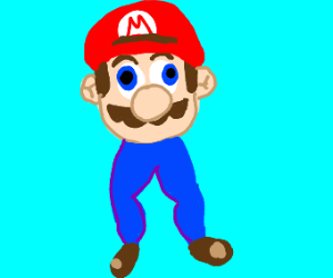 marios legs are long and thicc