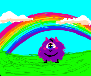 a Monster under The Rainbow