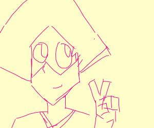 Peridot (SU) but she's pink