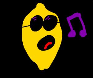 singing lemon
