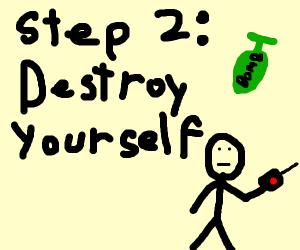 Step 1. Destroy all step games