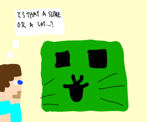 slimey cat