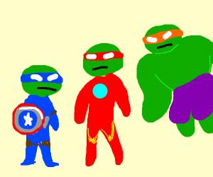 Teenage Mutant Ninja Avengers
