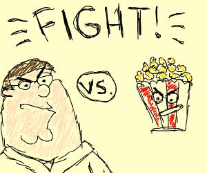 Griffin vs Popcorn