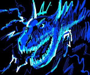 another fcking dragon, it's lightning themed