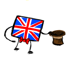 The UK flag is a Gentleman