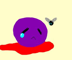 Sad Purple Head