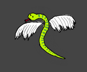 Snake with Wings